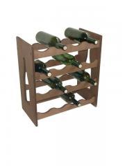 Suport lemn pentru 16 sticle