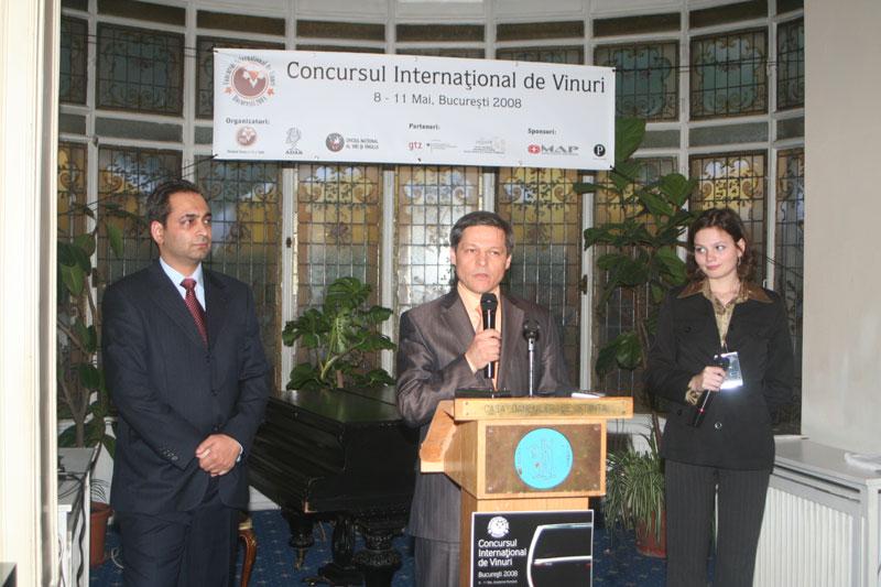 Concursul International de Vinuri Bucuresti 2008