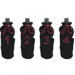 Set 4 saculeti catifea pentru degustare FIA 036