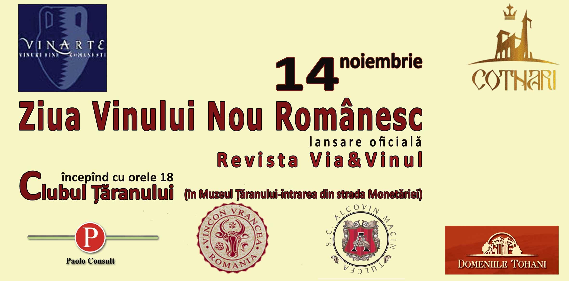 Ziua Vinului Nou Românesc - 14 Noiembrie 2008